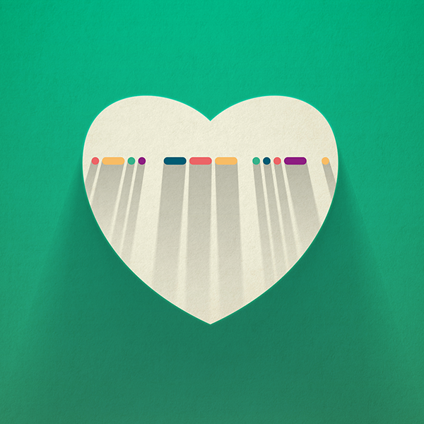 LOVE in Morse Code on Society6.com